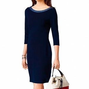 Tommy Hilfiger Nautical Dress Navy Blue M